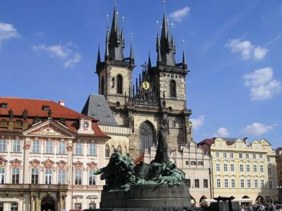 Oldcity Square in Prague (Staromák In Prág)